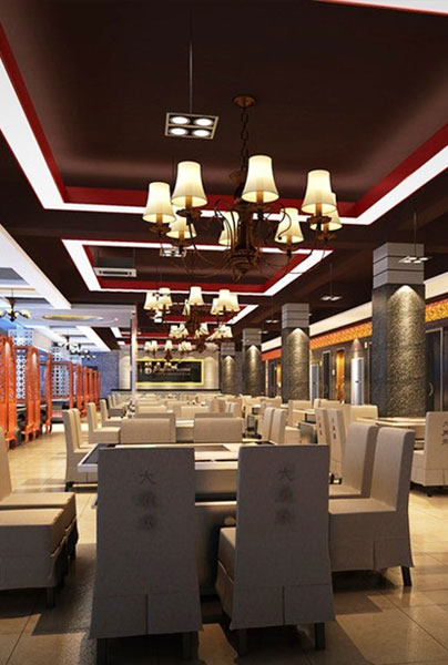 restuarant bar hotel interior design
