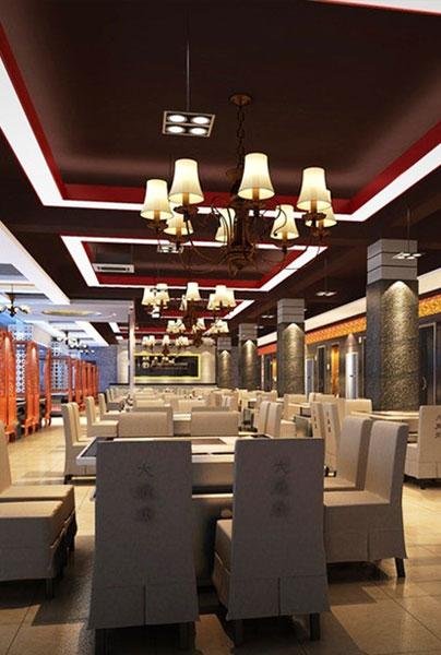 restuarant bar hotel interior design
